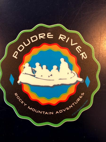 Wavy Raft - Sticker