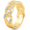 .54 Ct Diamond Mens Ring Solid 14k Yellow Gold 8.6 grams Lab Created (G/H, VS)