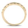 1/4 cttw Diamond Stackable Womens Wedding Ring 14k Yellow Gold (I/J, I2-I3)