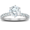 1 3/4 Ct Round Cut Diamond Engagement Ring 14k White Gold (G/H, SI1-SI2)