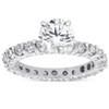 2ct Diamond Eternity Engagement Ring 14K White Gold ((G-H), SI(1)-SI(2))
