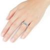 1/2 Ct Diamond Engagement Wedding Ring Set 10k White Gold (H/I, I1-I2)