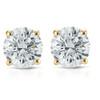 1/2ct Diamond Studs 14K Yellow Gold (G/H, I1-I2)