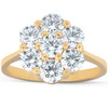 2 Ct Diamond EX3 Lab Grown 14k Yellow Gold Engagement Ring (((G-H)), SI(1)-SI(2))
