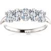 1 1/2Ct Oval Moissanite Marquise Wedding Ring in White, Yellow or Rose Gold (((G-H)), VS1-VS2)