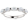 1 1/2Ct Oval Moissanite Wedding Ring Available in White, Yellow or Rose Gold (((G-H)), VS1-VS2)