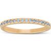 1/4 Ct Lab Grown Diamond EX3 Wedding Ring 10k Yellow Gold (((G-H)), I(1))