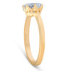 1 1/2 Ct Solitaire Diamond Micro Prong Engagement Ring 14k Yellow Gold (G/H, SI1-SI2)