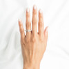 1 Ct Princess Cut Diamond Engagement Ring 10k White Gold (G/H, SI1-SI2)