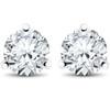 1 ct TDW Diamond 3-Prong Martni Studs (F, SI(1)-SI(2))