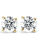 1.00 Ct TDW Diamond Studs in 10k White or Yellow Gold (JK, I2-I3)