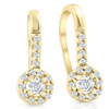 1/5ct Diamond Earrings Yellow Gold (H, I2-I3)