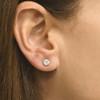1 ct TDW Diamond Studs 14K Yellow Gold Lab Grown Earrings (((G-H)), SI(2)-I(1))