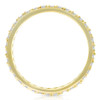 1/2 Ct Diamond Eternity Ring 10k Yellow Gold Womens Stackable Anniversary Band (H/I, I1-I2)