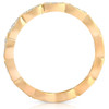 .43Ct Certified Diamond Eternity Ring 14k Yellow Gold Anniversary Stackable Band (H-J, I2-I3)