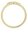 1/10ct Mens Diamond Ring 10K Yellow Gold (G/H, I1-I2)
