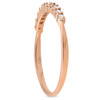 1/4ct Diamond Ring 14K Rose Gold (H/I, I1-I2)