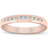 1/4ct Channel Set Diamond Wedding Ring 14K Rose Gold (H, I1)