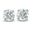 .33Ct Round Brilliant Cut Natural Diamond Stud Earrings in 14K Gold Classic Setting (G/H, I2-I3)