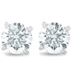 3/4Ct Round Brilliant Natural Diamond Stud Earrings in 14K Gold Classic Setting (G/H, I2-I3)