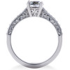 1 ct Diamond Lab Grown Eco Friendly Vintage Engagement Ring & Wedding Band 14k (F, VS)