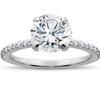 1 3/4 ct Lab Grown Diamond Sophia Engagement Ring 14k White Gold (F, VS)