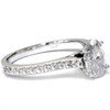 1 1/4ct Oval Diamond Engagement Ring Solitaire 14K White Gold (H/I, I1-I2)