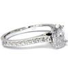1 1/4ct Oval Diamond Engagement Ring Solitaire 14K White Gold (H/I, I1-I2)