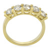 1 1/4ct Diamond Wedding 14k Yellow Gold Anniversary Ring 5-Stone High Polished (G/H, I1)