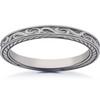 Vintage Scroll Sophia Wedding Ring