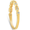 1/6ct Diamond Wedding Ring 14k Yellow Gold (G, I1)