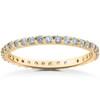 7/8 ct Lab Grown Diamond Eternity Womens Stackable Wedding Ring (F, VS(2)-SI(1))