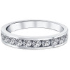 1ct Diamond Wedding Ring 14K White Gold (G/H, I1)