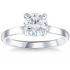 1 ct Diamond Solitaire Engagement Ring 14k White Gold ((G-H), SI(1)-SI(2))