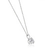 1/5 ct Solitaire Lab Grown Diamond Pendant available in 14K and Platinum (F, SI1-SI2)