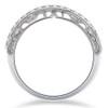 1/2 ct Vivian Lab Created Diamond Wedding Ring 14k White Gold (F, VS/SI)