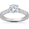 1 ct Eco Friendly Lab Grown Vintage Diamond Solitaire Sophia Engagement Ring 14k (G, SI)
