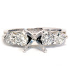 1 5/8ct 14K Diamond Semi Mount Engagement Ring Setting (G/H, SI)