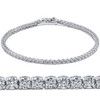 "3ct. Round Cut Diamond Tennis Bracelet In 14k White Gold 7"" (J-K, I1)"