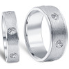 1 1/2ct Matching His Hers Diamond Wedding Band Ring Set (G/H, SI)