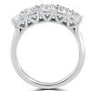 1 1/4 ct 5-Stone Diamond Trellis Anniversary Ring 14k White Gold (I/J, I1-I2)