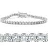 7ct Diamond Tennis Bracelet 14K White Gold (G/H, I1)