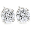 1/4ct Round Diamond Studs Earrings 14K White Gold (G, VS2-SI1)