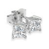 1 1/4ct Diamond Studs 14K White Gold (G/H, SI2/SI3)