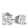 1 1/2ct Diamond Studs 14K White Gold (G/H, SI2-SI3)