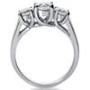 1 3/8ct Three Stone Diamond Ring 14K White Gold (G/H, SI)