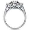 1 3/8ct Three Stone Diamond Ring 14K White Gold (G/H, SI)