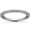 1/4 ct Lab Grown Diamond Wedding Ring (F, VS)