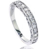1/2ct Vintage Diamond Wedding Ring 14K White Gold (G/H, I1)