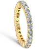 1 1/2ct Prong Diamond Eternity Ring 14K Yellow Gold (G/H, I2)